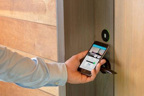 digital door lock for hotels