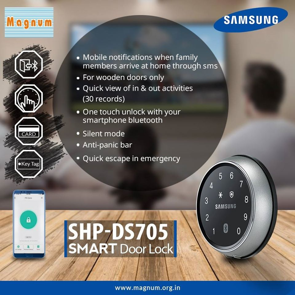 Samsung Electronic Door Locks