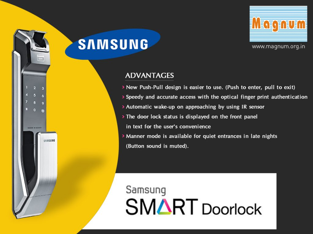 smart digital locking system